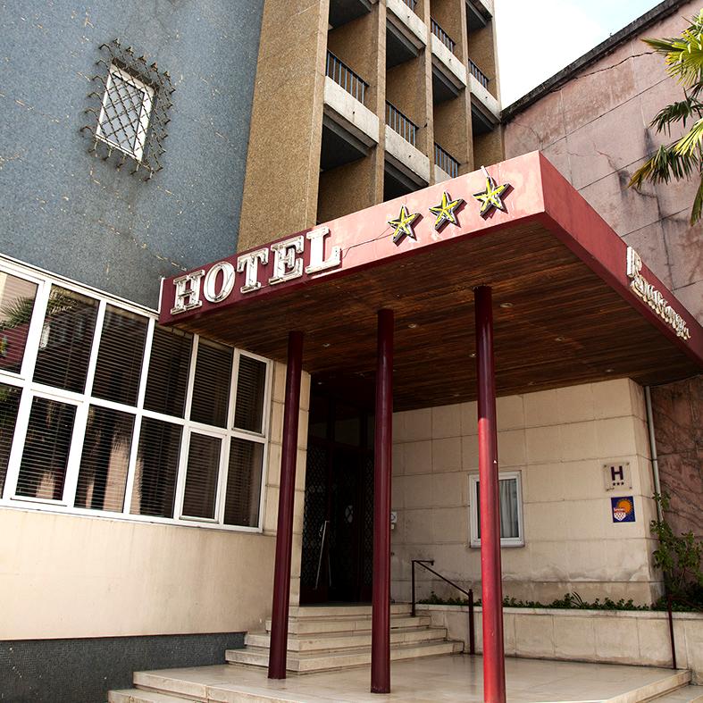 Hotel Braganca Entrada