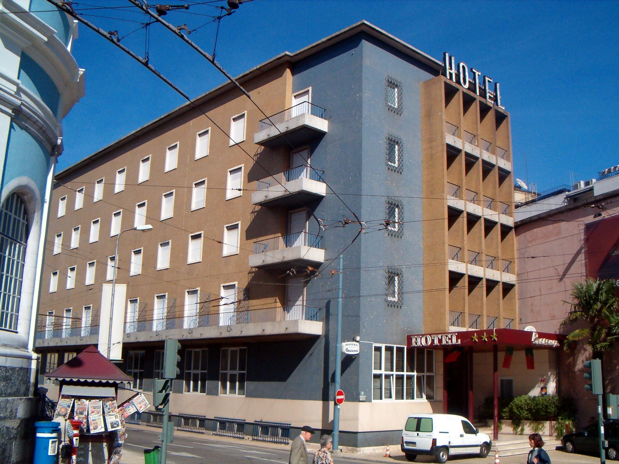 Fachada Hotel Bragança